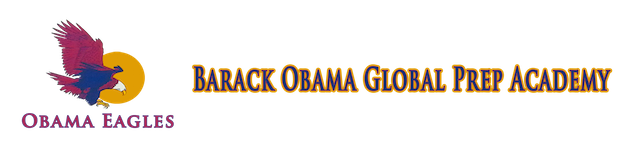 Barack Obama Global Preparation Academy  Logo